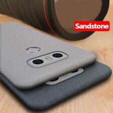 For LG G4 G5 G6 G7 ThinQ V30 Plus V40 Sandstone Soft Silicone Rubber Cover Case