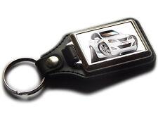 LEXUS IS250 Saloon Car Koolart Leather and Chrome Keyring