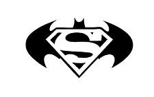 Vinyl Decal Truck Car Sticker Laptop Window - DC Comics Batman VS Superman Logo