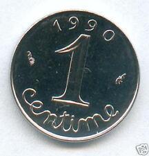 TOP RARE @ 1 CENTIME EPI DE 1990 SPL+++ @ PETIT TIRAGE