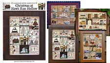 Carriage House Samplings Cross Stitch Charts.. Hawk Run Hollow. Choose