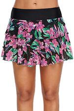 e6df2b66dcd Women s Sport Swimming Floral Bottom Skirt Swimwear Beach Bikini Plus Size