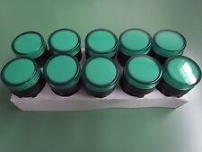 10 st Warnlampe grün LED 24 V 22 mm ETAV22green24VDC