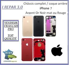 Châssis complet / Coque arrière iPhone 7 Or Argent Noir mat ou Rouge
