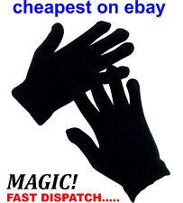 BLACK Magic gloves unisex taglia unica estensibile All'ingrosso Lavoro Lotto Inserzione Multi