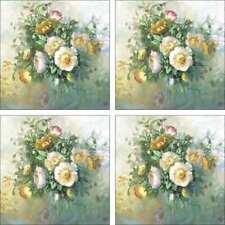 Poppies Floral Accent & Decor Tile Set Taite Ceramic Backsplash POV-FPT003AT