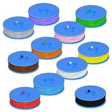 (0,22€/m) 10 Metri Filo trefoli / Cavo 0,25mm² f.t. / flessibile filo trefoli