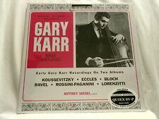 GARY KARR Bass Virtuoso Alec Wilder Koussevitzky 200 gram vinyl NEW 2 LP