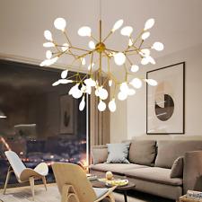 27/36/45/54/63 LEDs Sputnik Firefly Chandeliers Branch Pendant Ceiling Lights