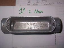 "c  condulet conduit 1"" body outlet body aluminum"