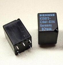 2 x Siemens V23072-C1061-X114 Relais 12V 130 Ω (M3825)