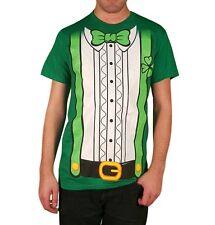 Delta Men's Leprechaun Costume Irish St Patrick's Day Green Shirt S M L XL NEW