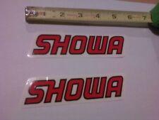 Best Showa Decals On Ebay!  2 Genuine Factory Stickers!