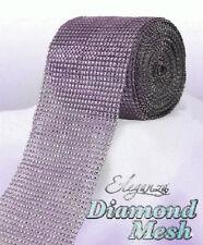 Lavender pink Diamante Rhinestone effect band ribbon Cake Trim Wedding, Sewing