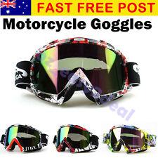 MX Graffiti Colorful Frame Tinted lens Motocross MTB Off-Road Dirt Bike Goggles