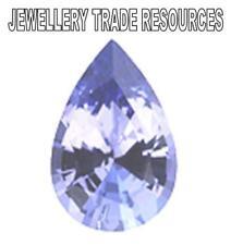 Natural Violet Tanzanite Pear Shape 4x3mm Gem Gemstone