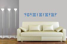 Wandtattoo Cheerleader Wandsticker Cheer Wanddeko in vielen Farben und Größen