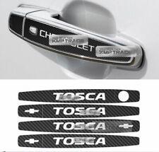Carbon Black Door Catch Logo Handle Decal Sticker For CHEVROLET 2006-2011 Epica