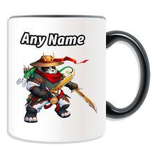 Personalised Gift Pandaren Rogue Mug Money Box Cup World Warcraft WOW Male Game