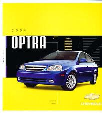 2004 Chevrolet Chevy Optra Suzuki Sales Brochure Book Catalog Canada