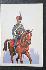 Royal Gloucestershire Hussars  Historic Uniform Card