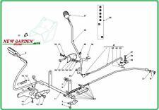 demonté commande frein d'échange rouler sur la tondeuse 92cm XG 140 CASTELGARDEN