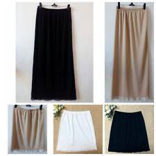 "Women New Waist Slip Lady Black White Underskirt Petticoat Half Slips 23-39"" Hot"