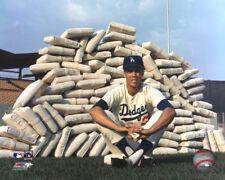 Maury Wills LA Dodgers MLB Licensed Fine Art Prints (Select Photo & Size)