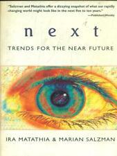 NEXT TRENDS FOR THE NEAR FUTURE  MATATHIA - SALZMAN THE OVERLOOK PRESS 2000