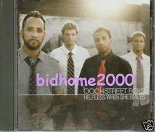 Backstreet Boys - Helpless When She Smiles Promo CD Single (Made In The EU)