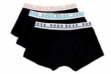 Hugo Boss Men's 3-Pc FN Solid Black Assorted Boxers Underwear