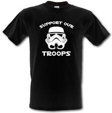 Sostenere le nostre truppe Stormtrooper Star Wars Heavy Cotton T-Shirt Tutte Le Taglie/Colori