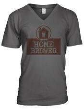 Home Brewer Craft Beer Microbrews Homebrewing Amateur Drink Mens V-neck T-shirt