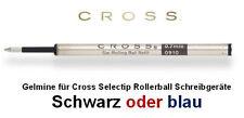CROSS Gelmine für Cross Selectip Rollerball Schreibgeräte SCHWARZ o.BLAU 8523/21