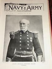 1898 ADMIRAL FREDERICK ANSTRUTHER HERBERT RUSSIAN WAR