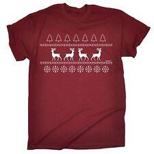 Jersey De Navidad Reno Camiseta Camiseta Santa vacaciones Divertido Presente Regalo Navidad