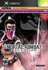 Mortal Kombat: Deception -- Mileena Kollector's Edition (Xbox, 2004) COMPLETE