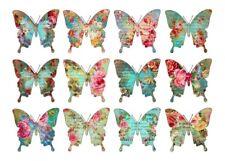 Aufkleber-Möbeltattoo-transp.-Shabby-Vintage-French-Butterfly-Schmetterling-1106