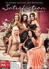 Satisfaction : Season 1 (DVD, 2008, 3-Disc Set) - Region 4
