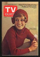 1972 tv guide ~ Sandy Duncan/Tom Jones & Jennifer O'Neill/General Hospital