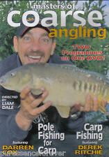 MASTERS OF COARSE ANGLING: POLE FISHING FOR CARP/CARP FISHING (PAL R0 DVD) (Sld)