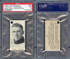 1923 V128 PAULIN'S CANDY #48 CRUTCHY MORRISON PSA 3