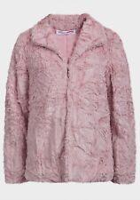 MINOTI girls kids faux fur jacket coat PINK 3-4-5-6-7-8 years old