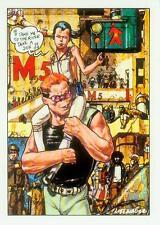 Gaetano Liberatore Postcard: Ranx (' Take me to the river...' ) (France, 1985)