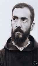 ADESIVO STICKER SANTINO HOLY CARD PADRE PIO DA PIETRELCINA