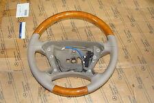 1Mercedes E klasse W211 Holzlenkrad Leder Holz Lenkrad r230 W219 W209 CLK SL CLS