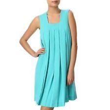 Vero Moda Very Jackie Pleated Dress Blue or Yellow UK 8 Eur 36 UK 10 Eur 38 BNWT