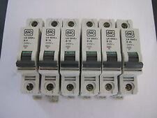 MK LN 5906s B6 LN5910s B10 LN5916s B16 LN5920s B20 LN5932s B32 LN5950s B50 MCB'S