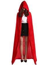 SALE Halloween hooded cape witch vampire renaissance medieval unisex black adult