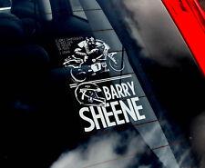 Barry Sheene -Car Window Sticker- Motorbike Superbike 500CC Racing Decal Sign V1